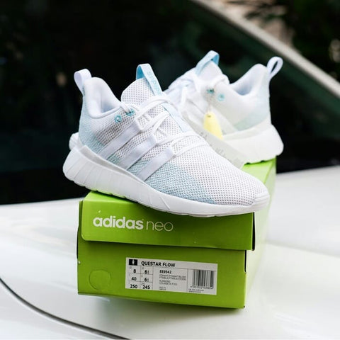 Adidas Questar Flow X Parley White