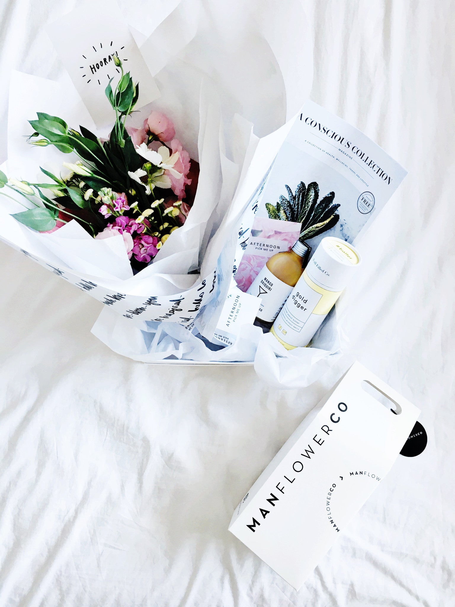 #CoupleGifts || Afternoon Pick Me Up + Manflower Co