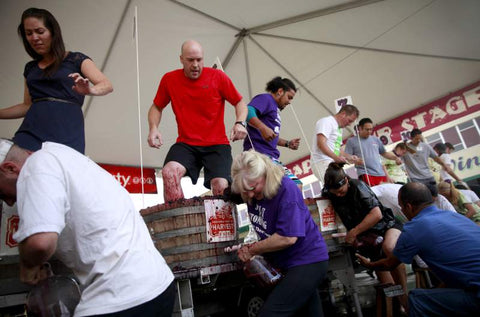 World Championship Grape Stomp