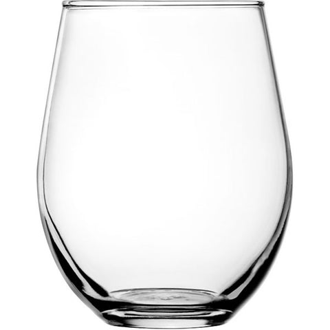 Stemless Red Wine Glass Set