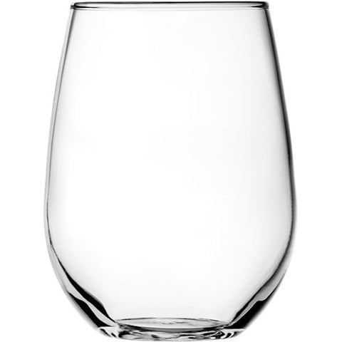 Stemless White Wine Glass Set