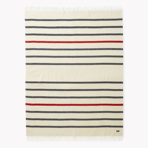 Faribault Mill Stripe Throw