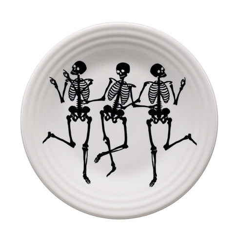 Trio of Skeletons Fiestaware