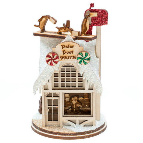 Polar Post Office Ornament