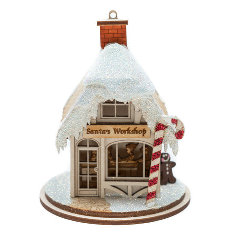Santa's Workshop Ornament
