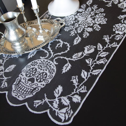 Sugar Skull Table Runner