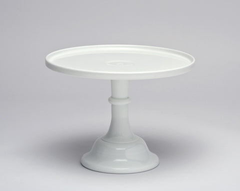 Milk White Glass Cake Stand