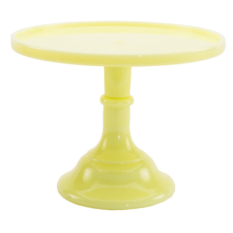 Butter Cream Glass Cake Stand