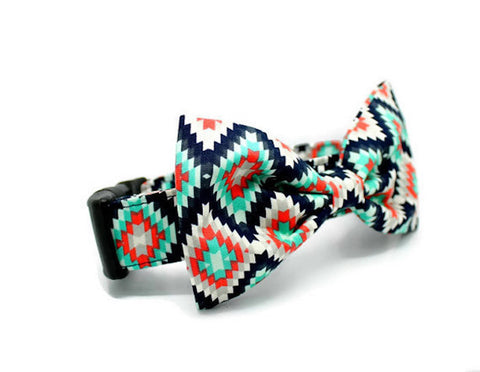 The Presley Bow Tie Collar