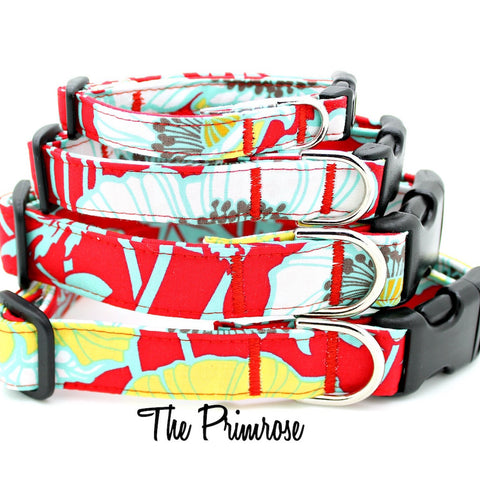 The Red Primrose Collar