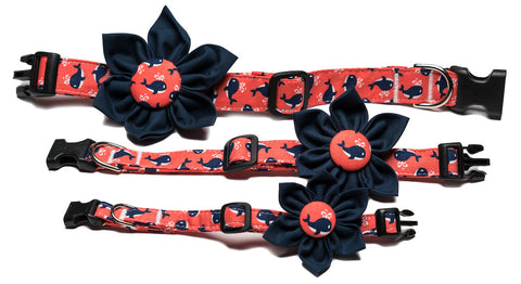 The Whale Flower Collar
