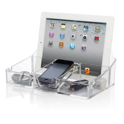 Clear Tech Organizer