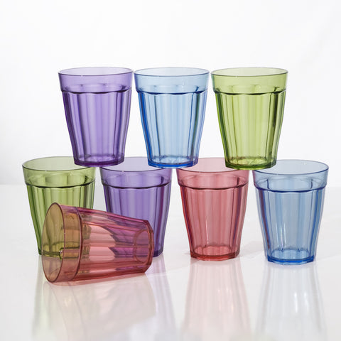 Set of 8 Water Glasses