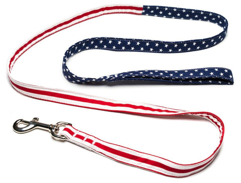 American Flag Leash