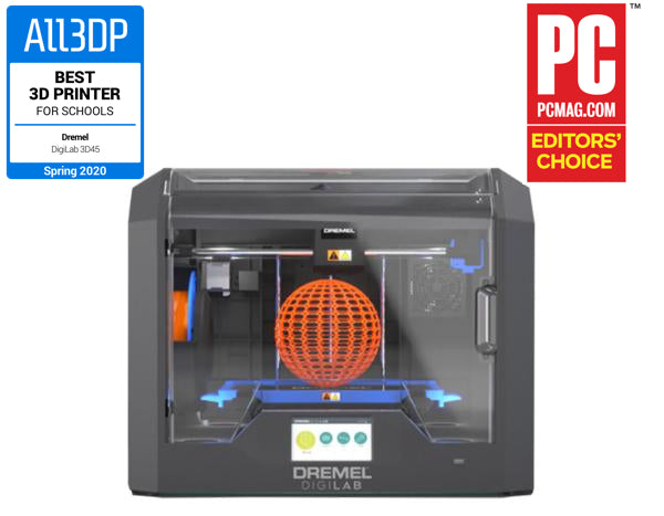 Dremel 3D45 3D Printer - Imaginables | Ultimaker & Dremel 3D Printers