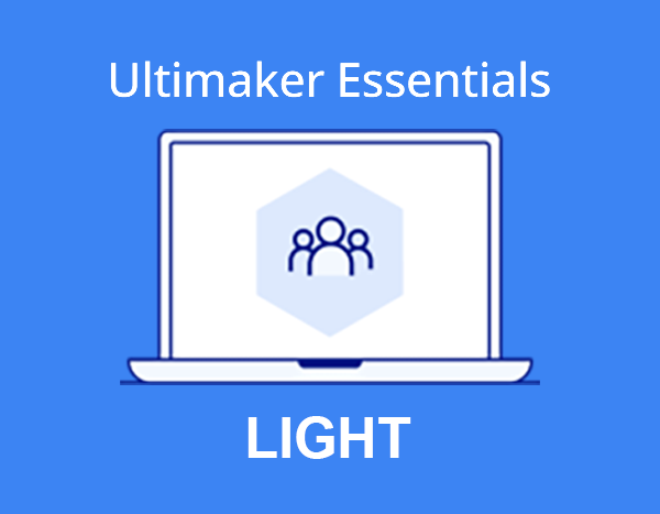 Ultimaker Essentials - Light - Imaginables | Ultimaker & Dremel 3D Printers