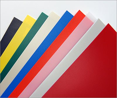 Assorted Two Color HDPE Sheets