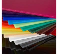 Assorted Acrylic Sheets