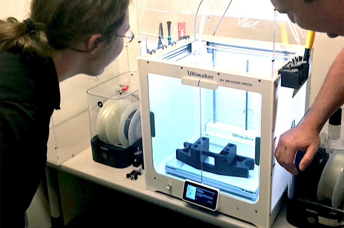 Reducing costs and improving efficiency with the Ultimaker S5