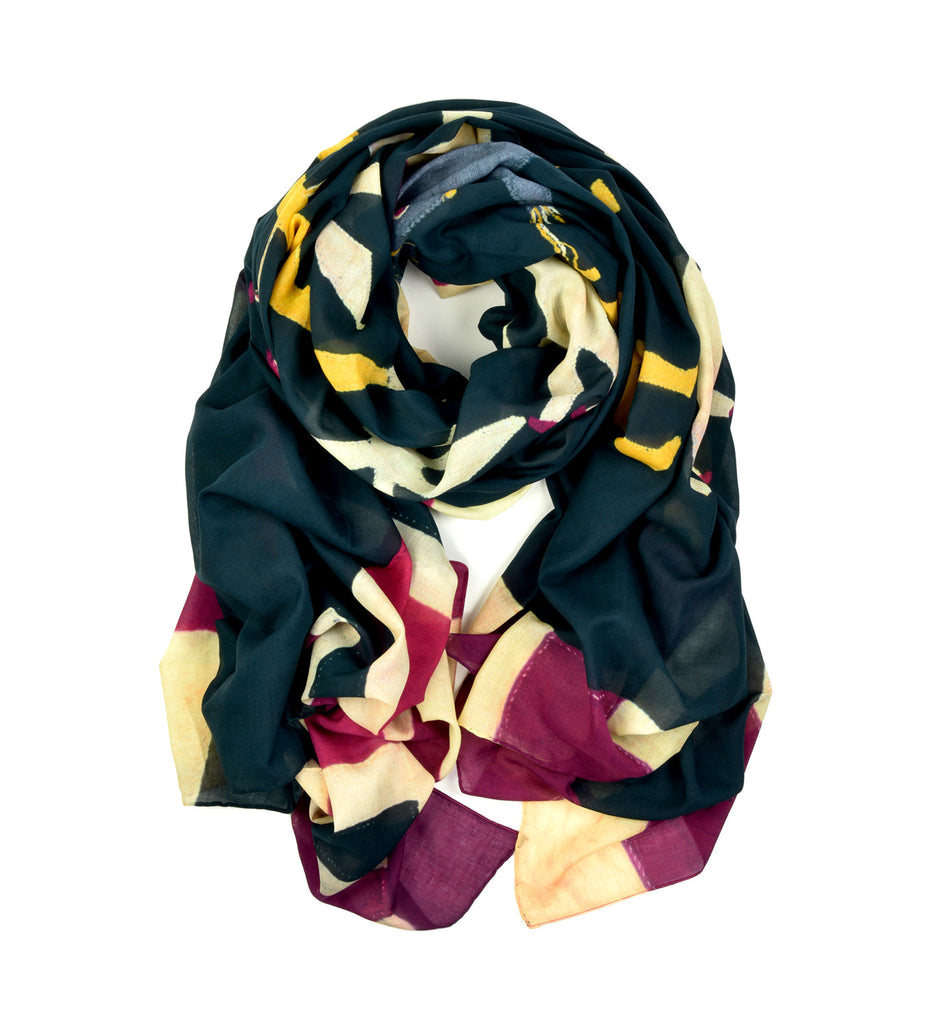 Fante 2 Oversized Scarf by Pebble London | Rolled