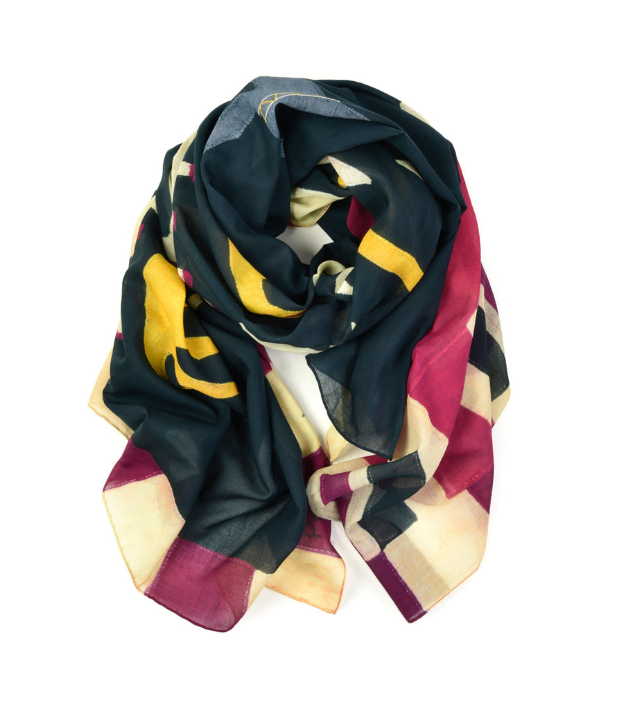 Fante 2 Scarf by Pebble London | Rolled