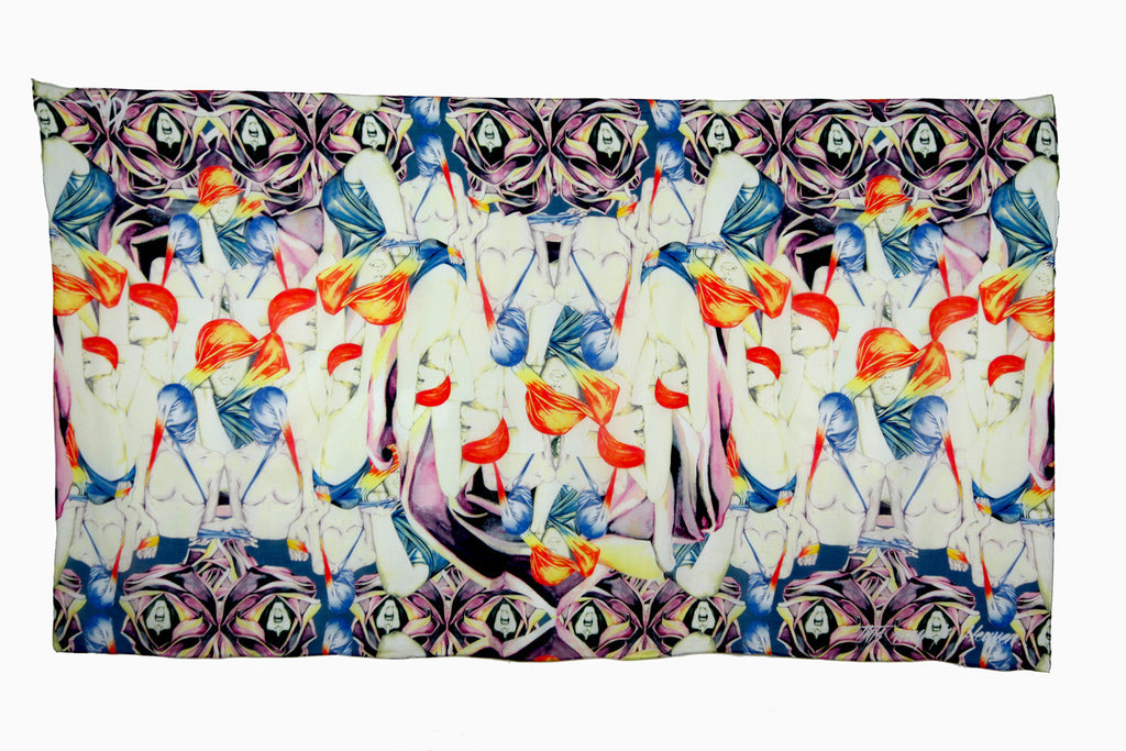 Multiple Orgasm Scarf by Alex Noble | Flat