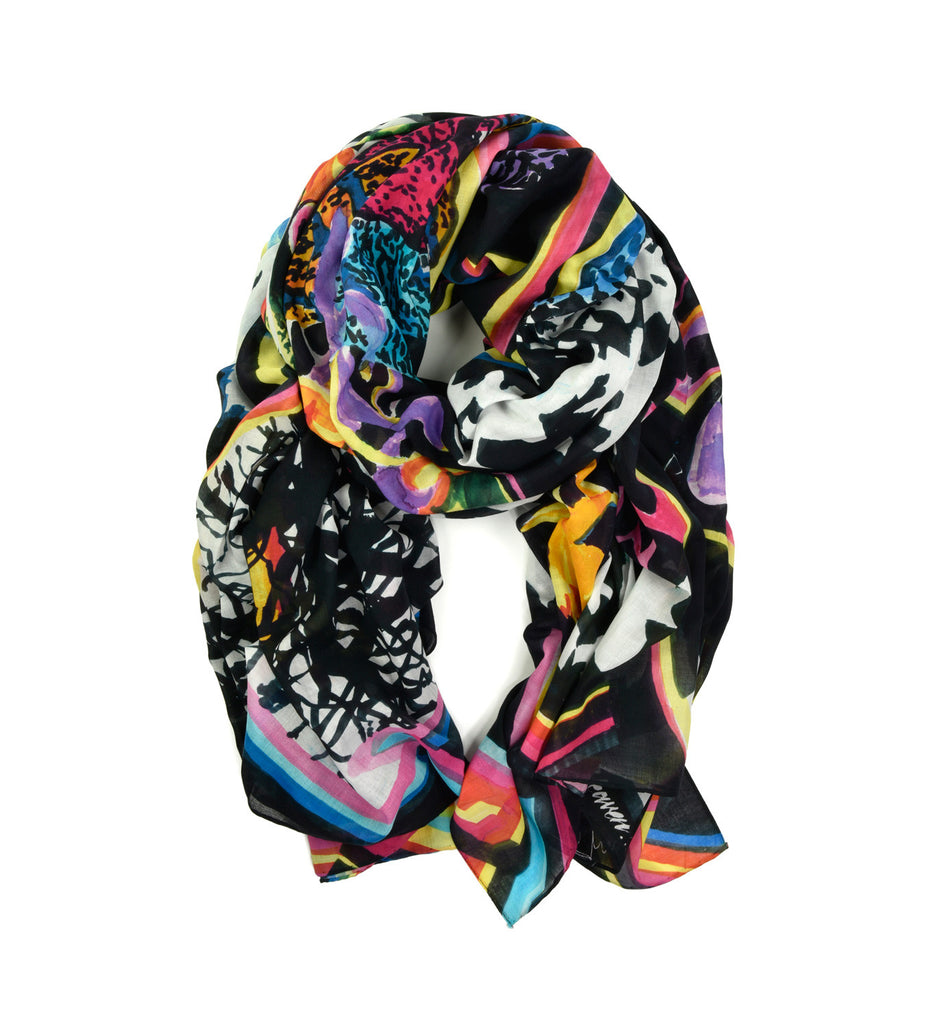 Hawk Oversized Scarf by Tony Common | Rolled