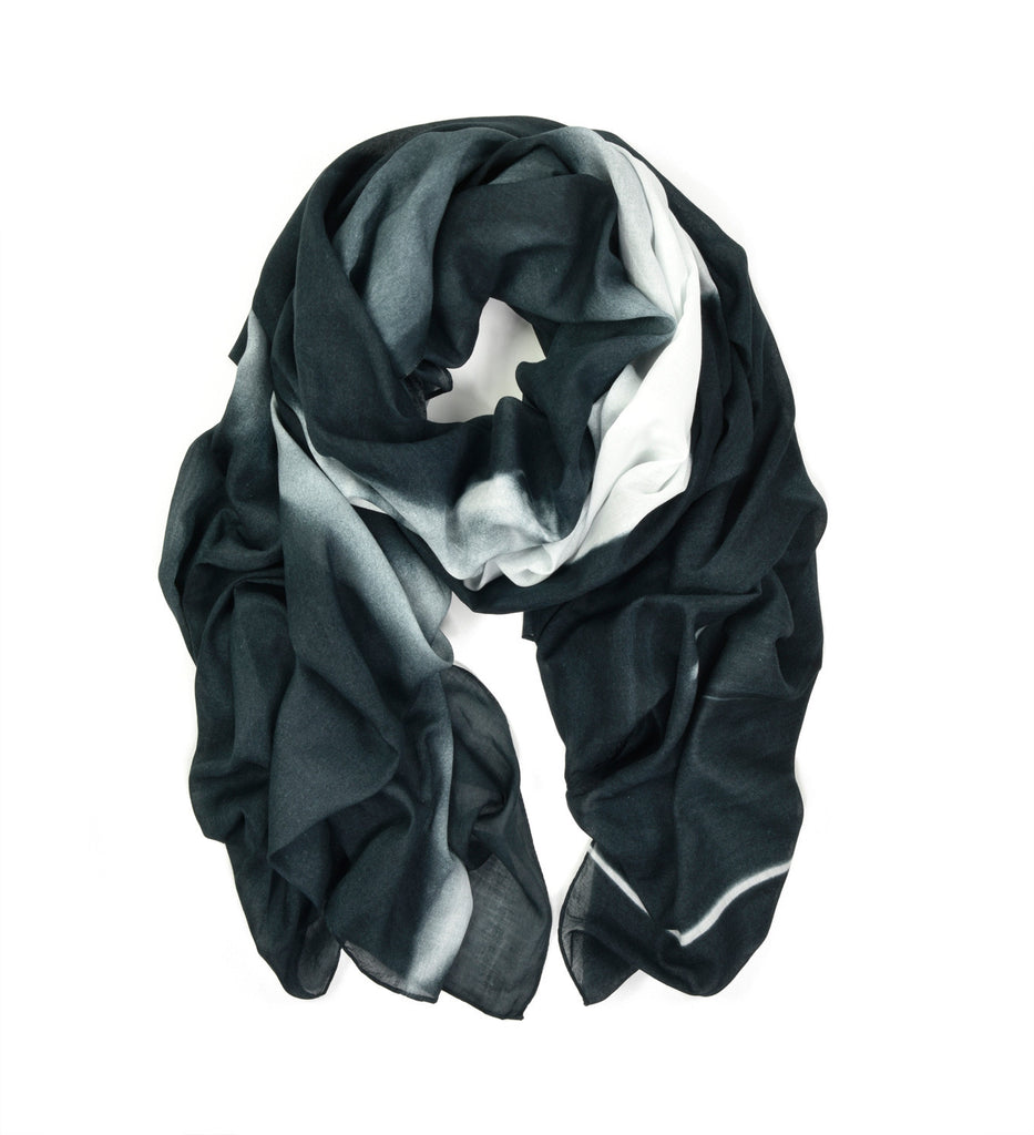 Running Horse Oversized Scarf by Sheila Rock | Rolled