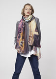Las Vegas 64' Oversized Scarf by Carl Glover | worn