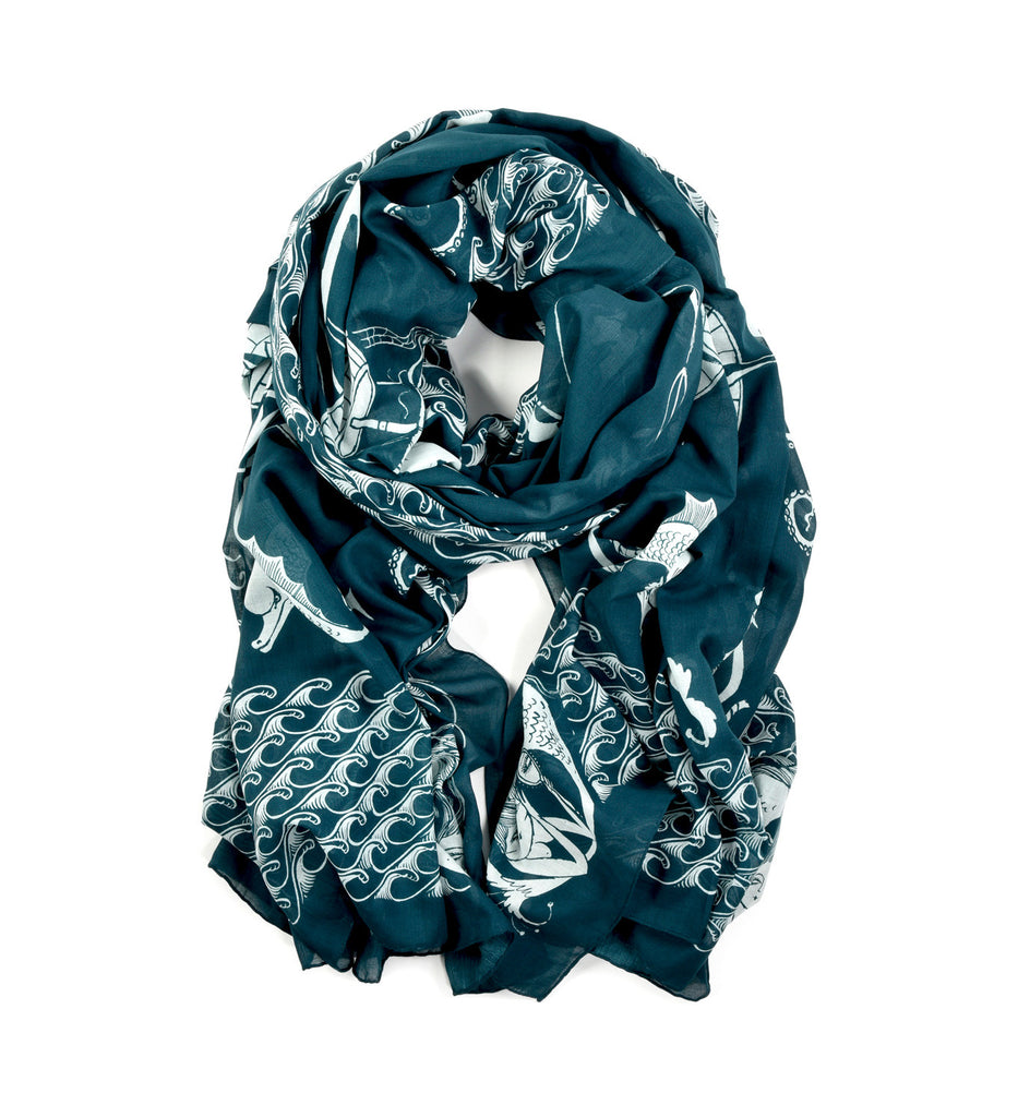 Sailor Oversized Scarf by Lord Dunsby | Rolled