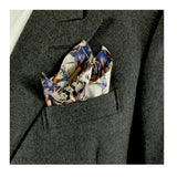Multiple Orgasm Pocket Square by Alex Noble | worn