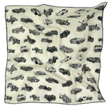Cars Neckerchief by Anna-Louise Felstead | Flat