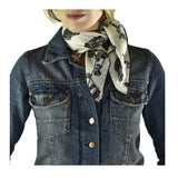 Cars Neckerchief by Anna-Louise Felstead | worn