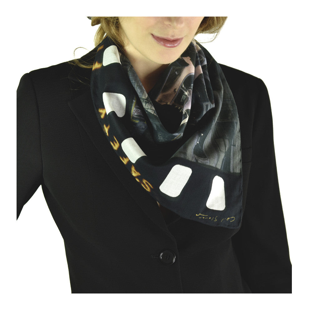 Car 2 Neckerchief by Carl Glover | worn