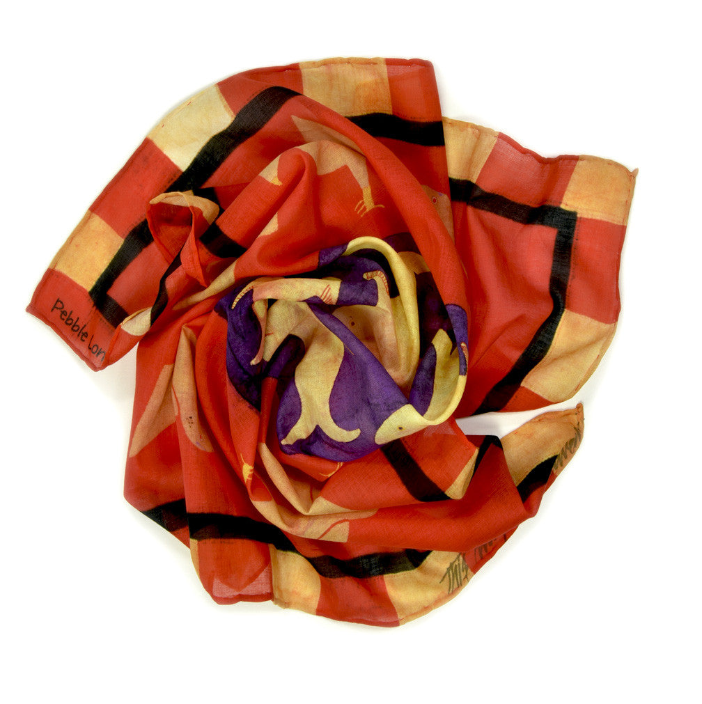 Fante 1 Neckerchief by Pebble London | Rolled