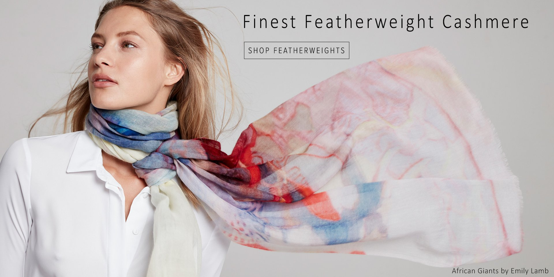 Cashmere Featherweight Scarves