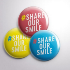 #shareoursmile op Brussels Airport