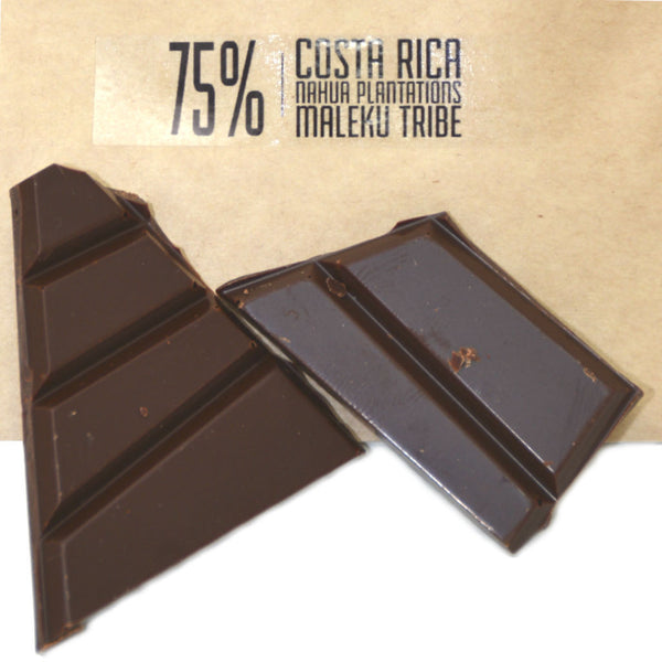 Chocolatoa Costa Rica 75% Nahua Plantations Maleku Tribe