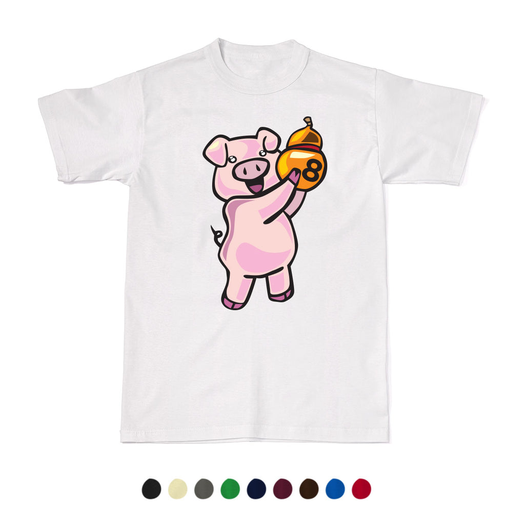 CNY Festive Designer Tees - Zodiac 2020 - Year of the Pig T-Shirt