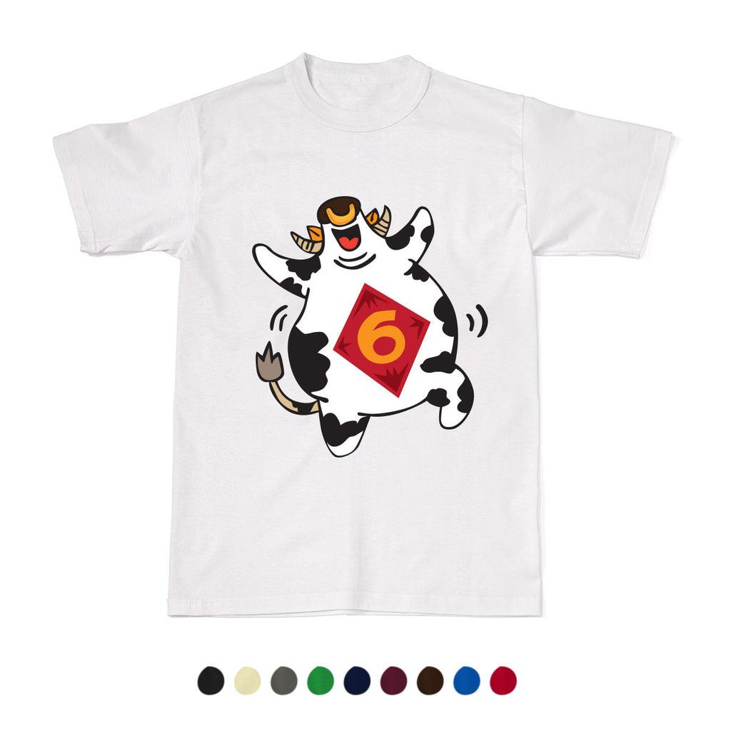 CNY Festive Designer Tees - Zodiac 2020 - Year of the Cow T-Shirt
