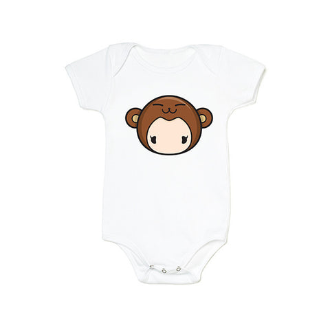 Tee-Saurus Zodiac Ball Monkey Family Tee