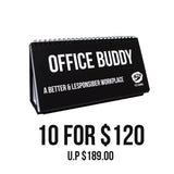 10 for $120 Bundle Pack - OFFICE BUDDY Singlish Sketchpads - Tee-Saurus