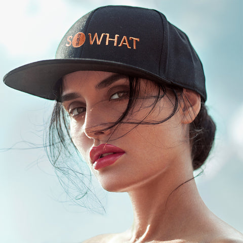 Attitude Caps - Whats the Big Deal - So What - Designer Cap