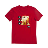 CNY Tees- Fortune Cat T-shirt - Tee-Saurus - 3