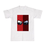 Cool Tees-Movie Tshirts - THUG Spiderman-White tee