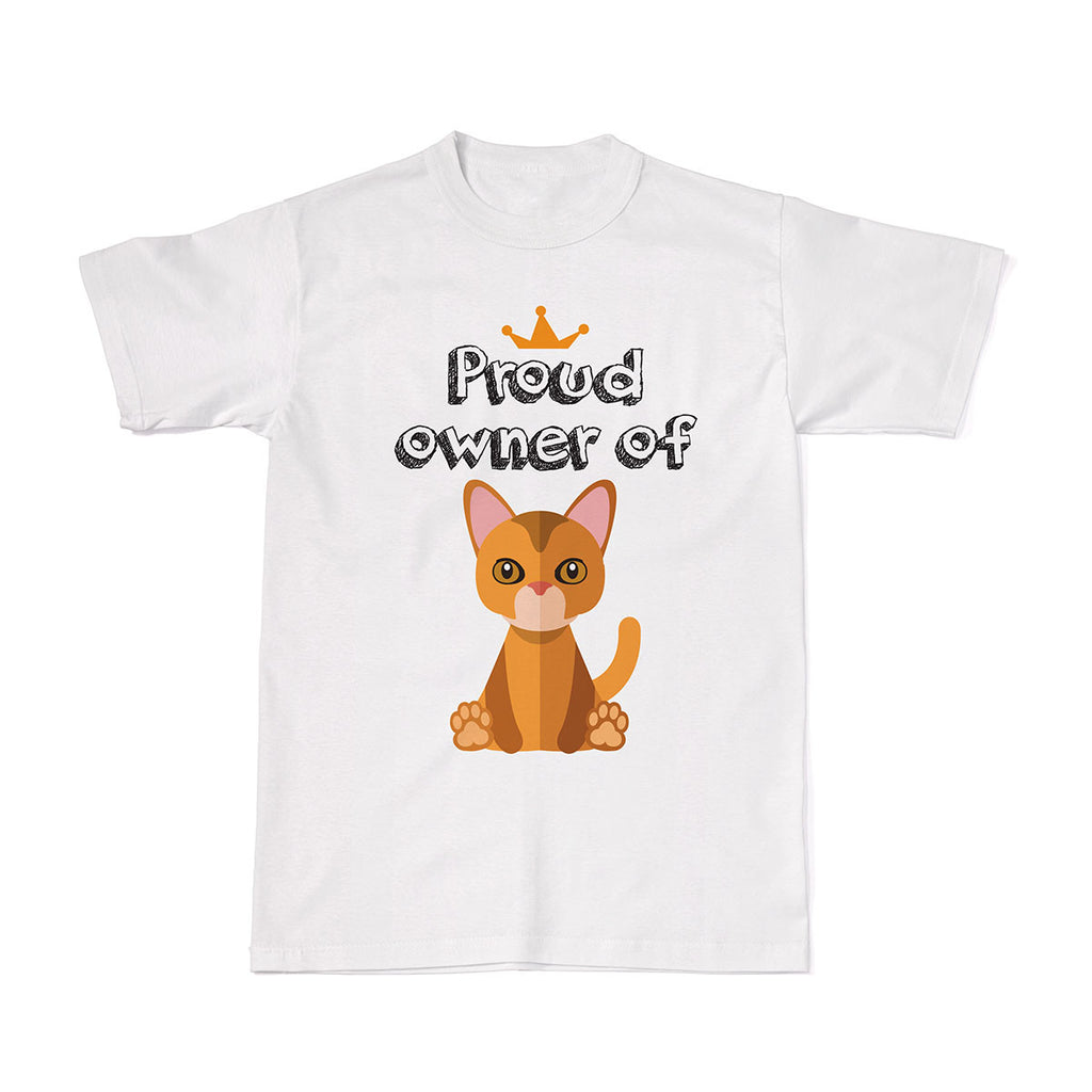 Proud Pet Cat Owner Tees - Abyssinian Cat tshirt