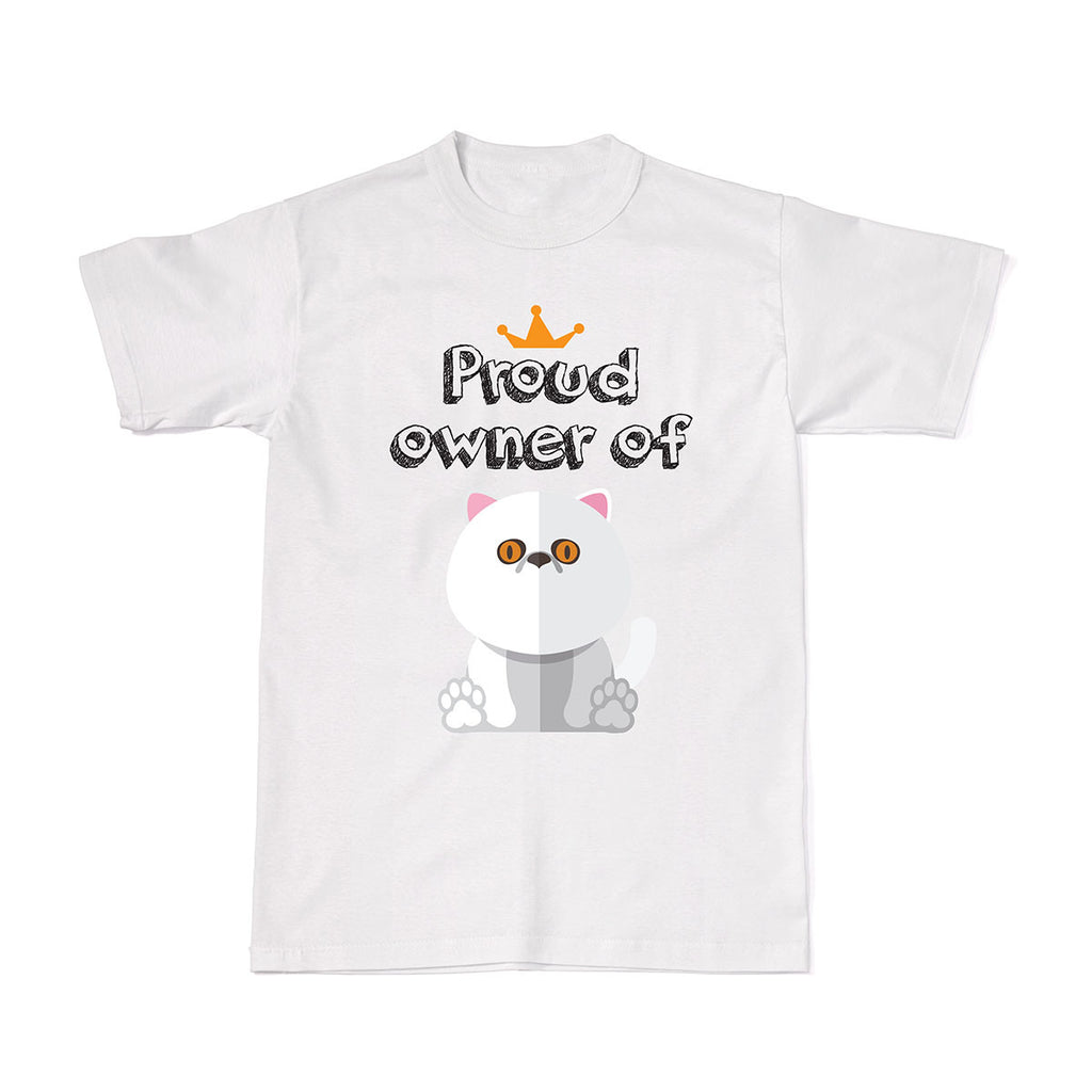Proud Pet Cat Owner Tees - Exotic Shorthair Cat tshirt