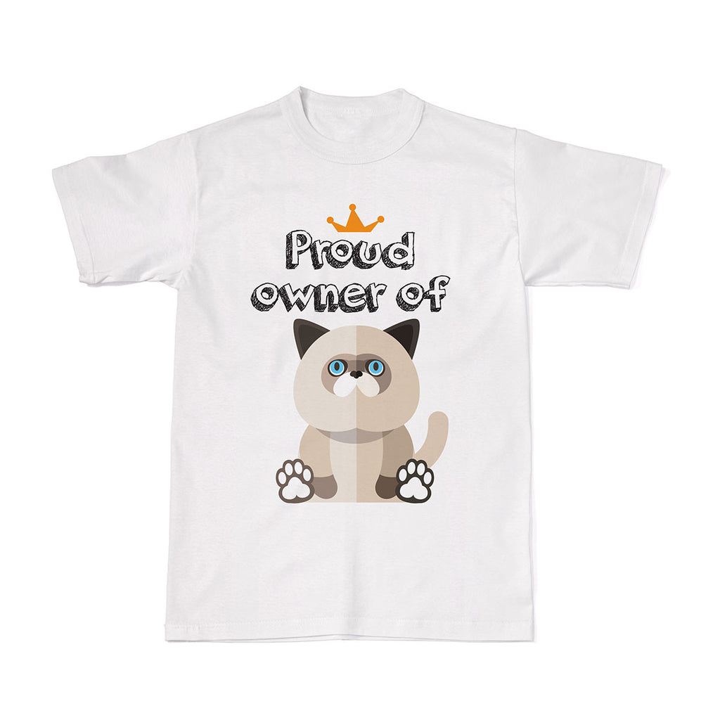 Proud Pet Cat Owner Tees - Himalayan Cat tshirt