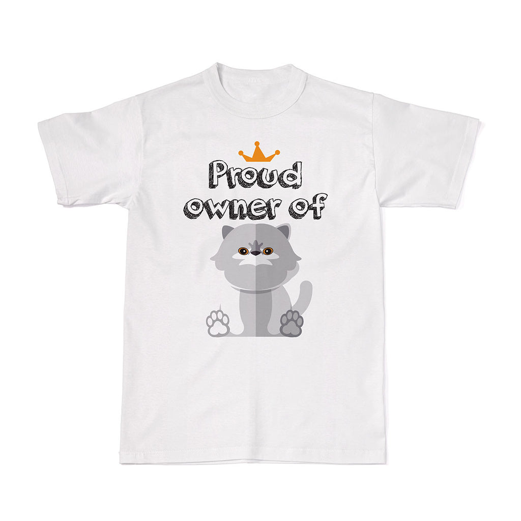 Proud Pet Cat Owner Tees - Persian Cat tshirt
