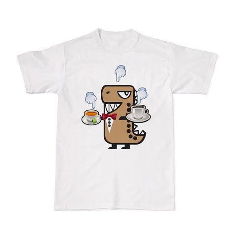 Adventure Tees - Rawr & the Coffee Tea or Me T-shirt